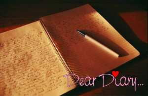 Dear diary blog
